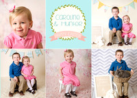 Hunter & Caroline {Easter minis}