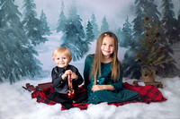 Landon & Olivia {Christmas mini}